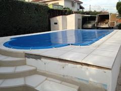 rehabilitación piscina obra